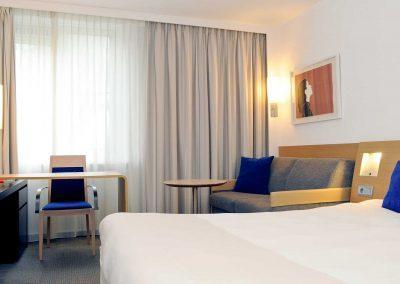 Novotel Hotel Rotterdam Schiedam Superior kamer
